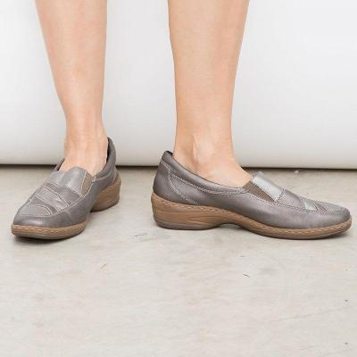 All Season Artificial Leather Slip-On Casual Loafers Womens Shoes
