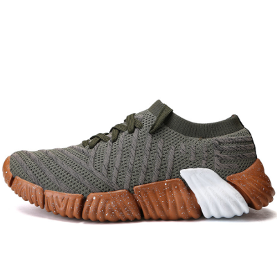 Fly Weave Sports Style Camouflage Shoes