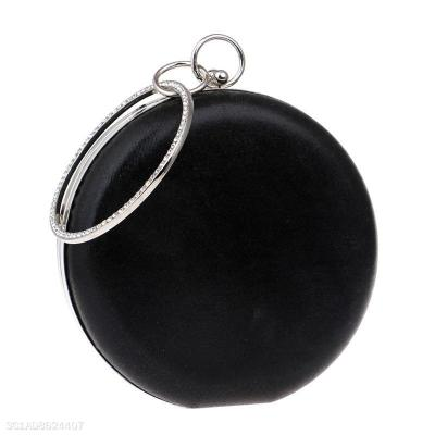 Fashion Plain Circle Handbag