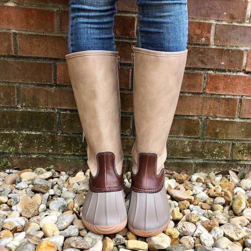 Women Casual Duck Slip-on Boot Shoes