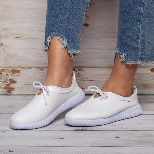 Women's Lace-Up Casual Sneakers