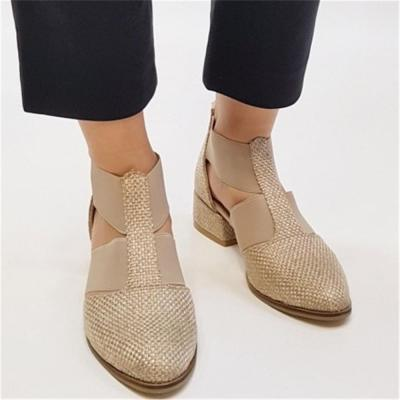 Women's Hollow Pointed Flats