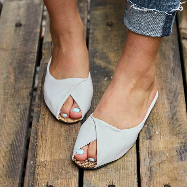 Flat Heel Summer Casual Slippers