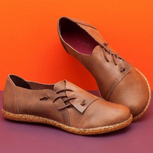 Women Comfy Slip-on Flat Shoes