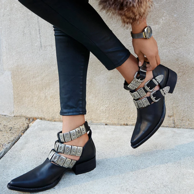 Fall Leather Women's Shoes