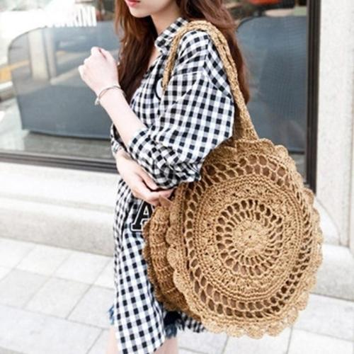 ?2018 Must Have Flower Round Shoulder Bag