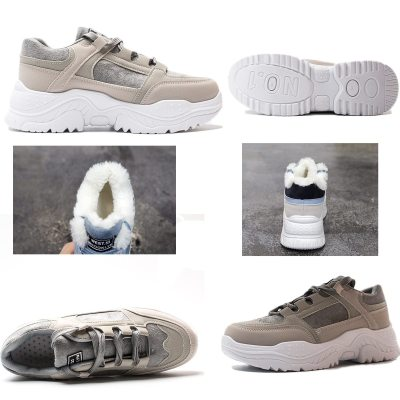 cuteshoeswearFujin Platform Sneakers Winter Plush Casual Shoes Vulcanized Sneakers for Women Female Lace Up Spring Autumn Ladies Shoes