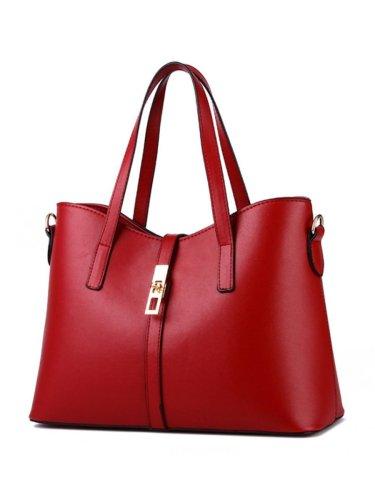 Simplicity Pu Classic Shoulder Bag