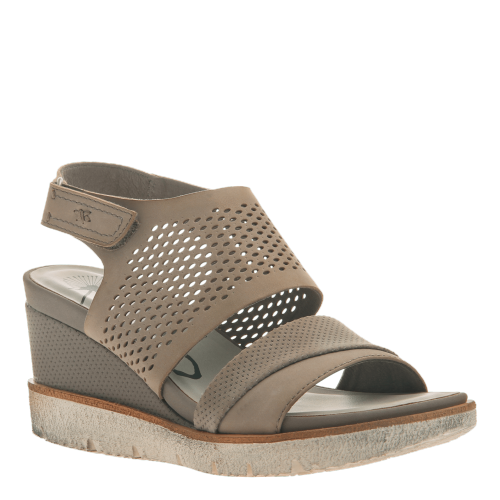 MILKY WAY in COCOA Wedge Sandals