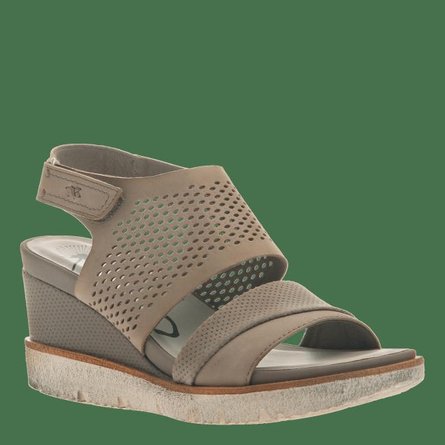 MILKY WAY in COCOA Wedge Sandals