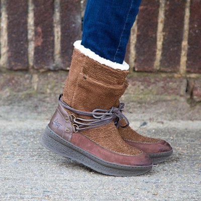 Women Casual Flat Heel Boots