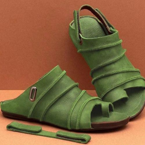 Cuteshoeswear CuteshoeswearLITTHING retro Summer Sandals Women Flats Solid Casual Shoes Slip-on Flip Flops Beach Shoes Low Heel Casual  Flat Sandals