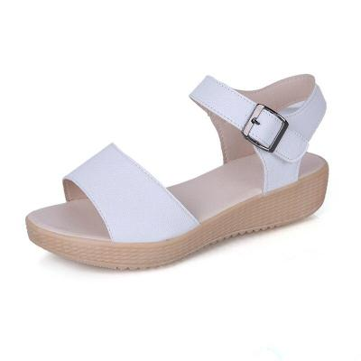 2019 Summer Women Shoes Beach Sandals Flat Soft Fashion Women Sandals Summer Ladies Shoes Thick Sole Non-slip A769