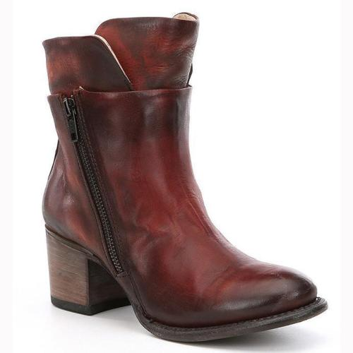Autumn Winter Short Boots High Heel Style Women's Ankle Boots