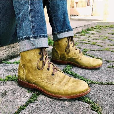 Lace Up Classic Boots