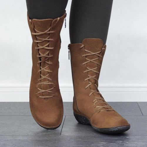 Flat Heel All Season Daily Boots