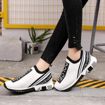 Platform Sneakers Summer Mesh Sneakers Slip On Shoes for Women