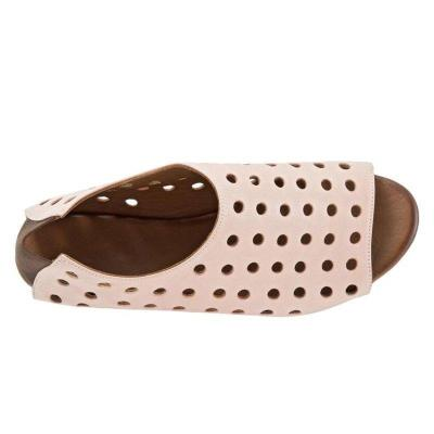 Women's Beach Elastic Band Peep Toe Summer Sandals