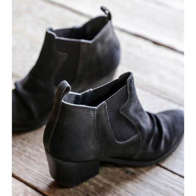 Autumn Fashion All Season Chunky Heel Ankle Boots