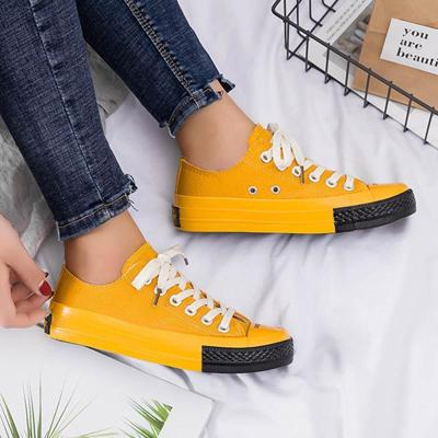 Fashion Lace-Up Non-slip Canvas Sneakers