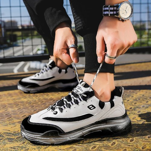 Men's Fashion Sports Breathable Casual Running Shoes