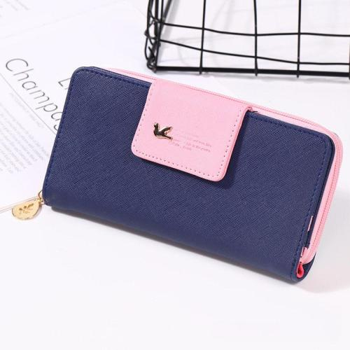 Brand Wallets Women 2020 Ladies Purses Female Long Zipper Coin Purse Women Wallets PU Leather Card Holder Colorful Clutch Bag