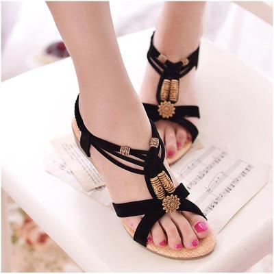 Sandals women shoes 2019 new fashion wedges casual shoes woman solid elastic band outdoor ladies shoes sandals women