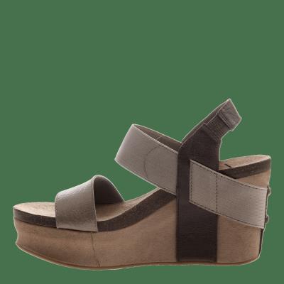 BUSHNELL in COFFEEBEAN Wedge Sandals