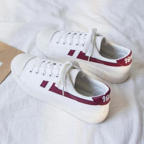 Fashion Sneakers Women Low-cut Canvas Shoes High Quality Flats Vulcanize Shoes Woman Casual Loafers Ladies Best Sellers Trainers