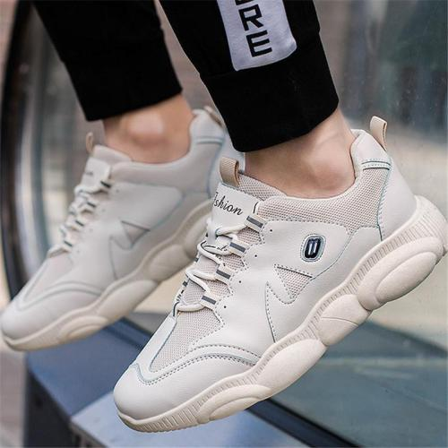 Daily Life Mesh Cloth Thick Soled Sport Casual Shoes