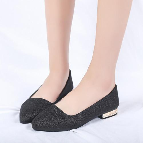 Women Flat Shoes Sequined Pointed Toe Women Boat Shoes Spring Autumn Flat Shoes Women Casual Party Flats