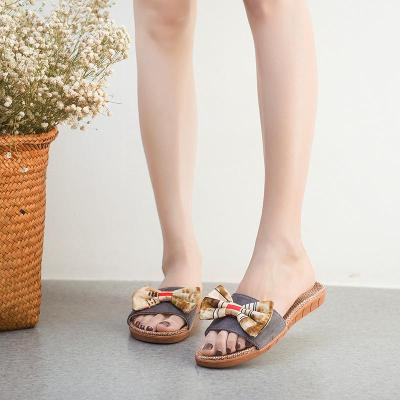 New 2019 Summer Women Slippers Home Shoes Flat Indoor Slippers Soft Comfortable Summer Women Shoes A834