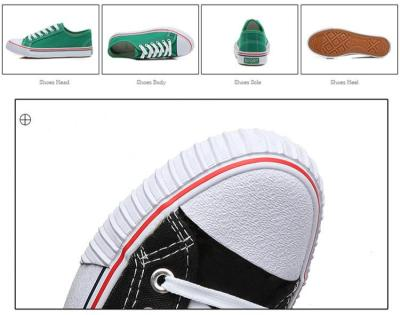 Women Canvas Shoes High Quality Sneakers 3 Times Vulcanization Fashion Low-cut Flats Skateboarding Shoes Ladies Casual Loafers