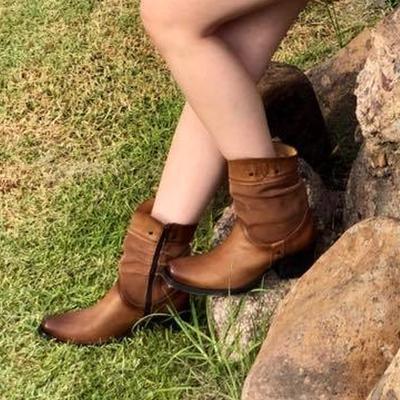 Winter Chunky Heel Boots