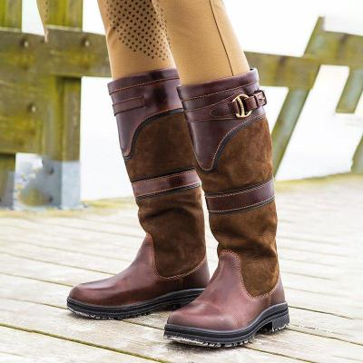 Flat Heel Daily Knee Boots