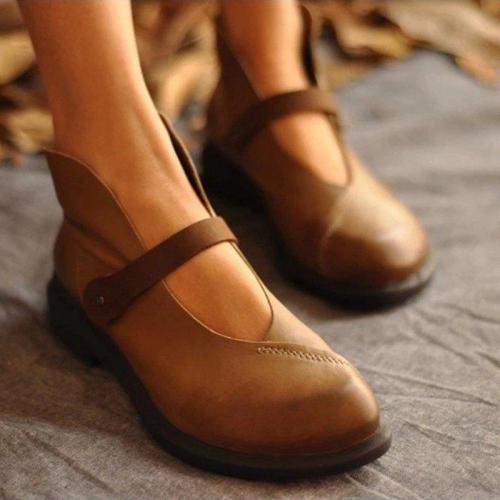 Low Heel Loafers& Flats