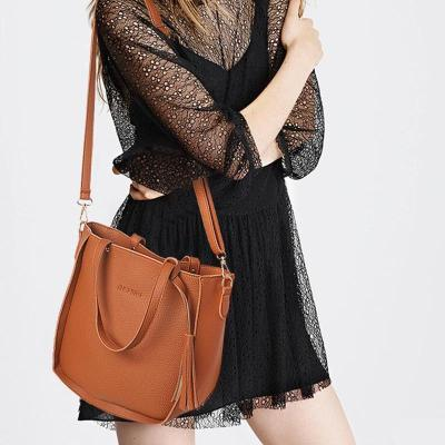 Female Bag Set Top-Handle Big Capacity Handbag