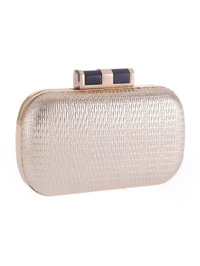Embossed Pu Evening Clutch Bag