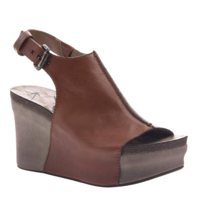 JAUNT in MOCHA Wedge Sandals