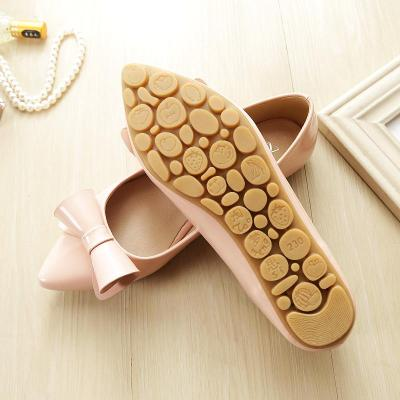 New Pointed Toe Large Size Women's Shoes Light Mouth Flat Heeled Fashion Casual Foot Work Sweet Female Flats YX0033