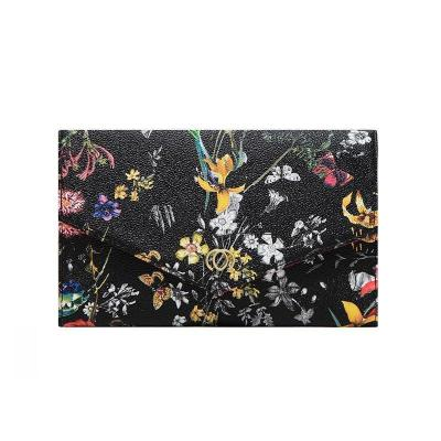 Large Capacity Flower Print Daily Long Wallet