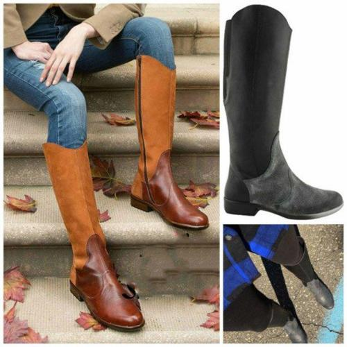 Women Vintage Comfy Slip-on Boot Shoes