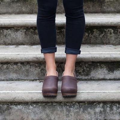 Women's Slip-On Clog Heel All Season Heels