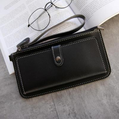 Women Long Wallet Leather Women's Purse and Wallet Design Lady Party Clutch Female Card Holder Carteras Y Bolsos De Mujer