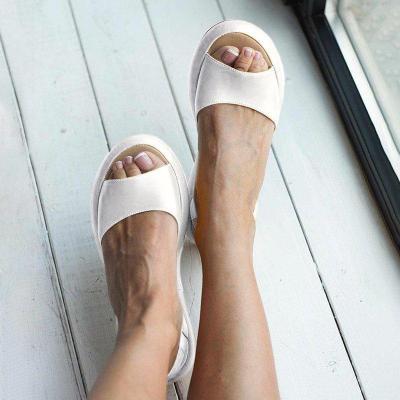 Faux Leather Sandals