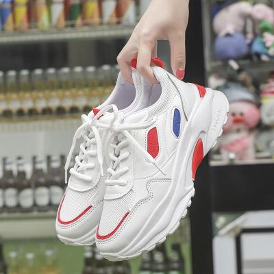 cuteshoeswear2019 New Chunky Sneakers for Women Sports Vulcanize Shoes Casual Women Shoes Fashion Dad Shoes Platform Sneakers Basket Femme