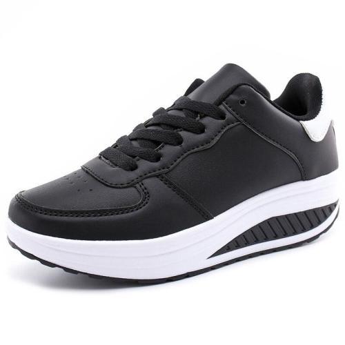 Women casual shoes Slimming platform shoes women fashion women flats Fitness Lady Shoes