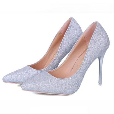 Sexy Sequins Simple Style High Heels Shoes