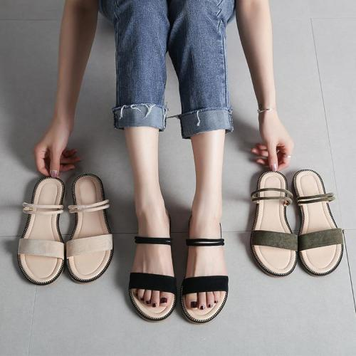 Fashion Sandals Women Summer Shoes 2019 Women Sandals Flat Casual Woman Summer Holiday Shoes Ladies Sandals Plus Size 42 A1362