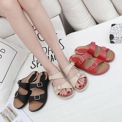 2019 Summer Women Slippers Ladies Beach Slippers Summer Women Shoes Fashion Woman Sandals Thick Sole 3cm A903